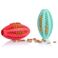 Rubber Rugby Football Toys for Dogs