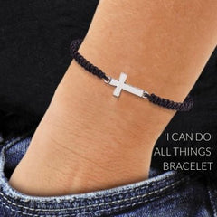 Best Christian Gifts valentine's Day 2020 for Kids I can do all things bracelet