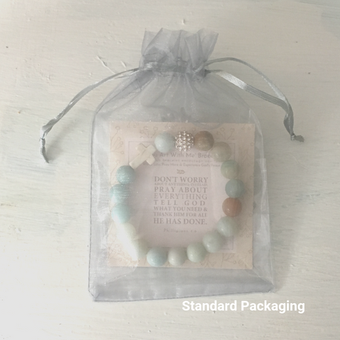 image of 'Thou Art With Me' Amazonite product package in it&
