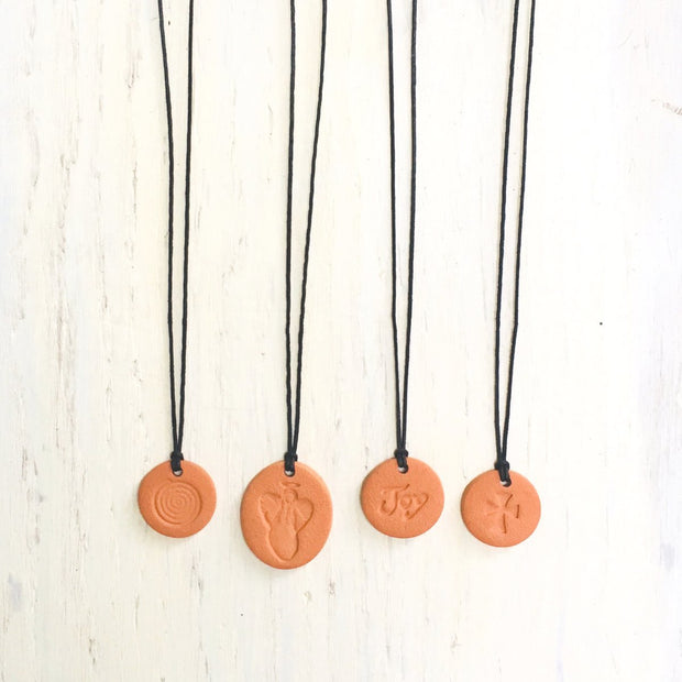 Joy Terra Cotta Diffuser Necklace