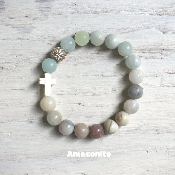 ' Thou Art with Me ' - Amazonite