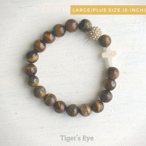 product top-view of the Natural Stone 'Thou Art With Me' Tiger&