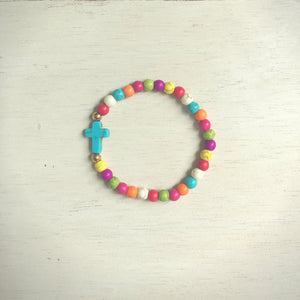 The ' Jesus loves Me ' Colorful Youth Bracelet
