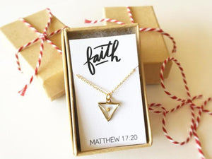 Mustard Seed Faith Necklace - Staff Favorite!