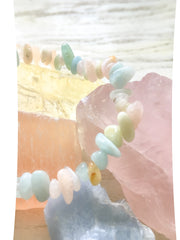 March's 'New Life' Small Batch Bracelet—Calcite Chips