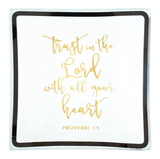 3-piece Gift Set - 'Trust in the Lord' Tray