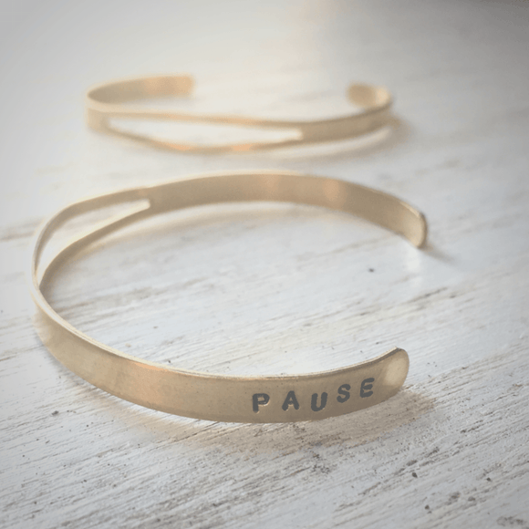 Hints' Brass Cuff Bracelet