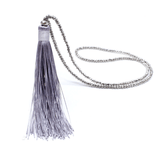 Jewelry - Sparkling Bead & Silk Tassel Necklace
