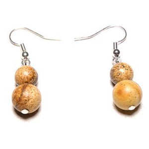 Simple Natural Stone Drop Earring - $12.99 Limited Offer!
