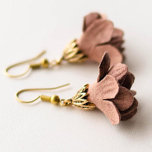 ' Flowers Fade ' Drop Earrings