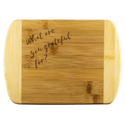 Wood Cutting Boards - What Are You Grateful For? Small Cutting Board