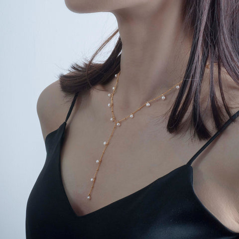 Dewdrop Y Necklace