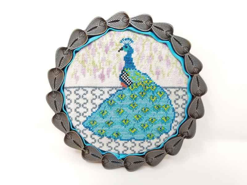 Peacock Basket