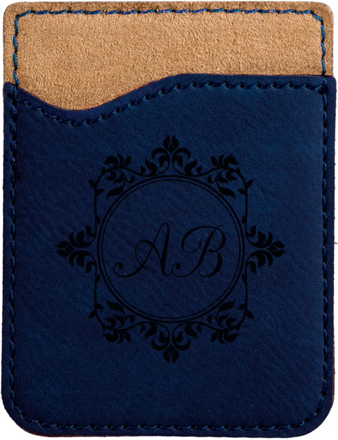Laserable Leatherette Phone Wallet (Customizable)