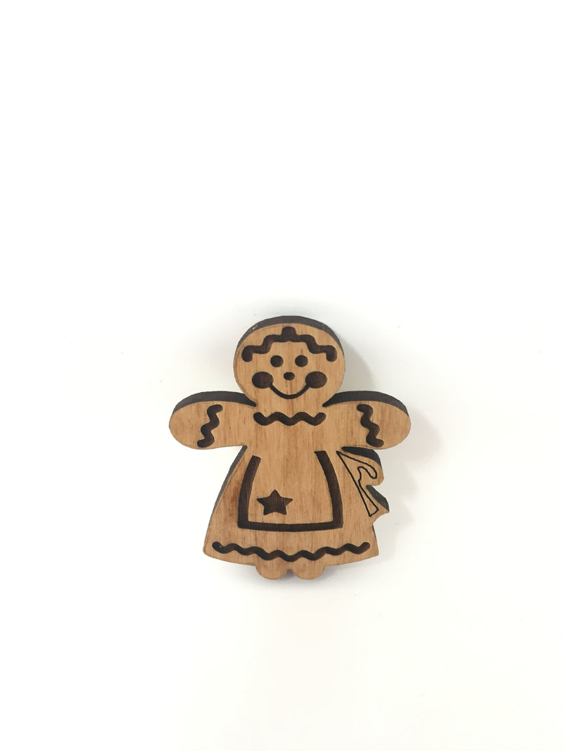 Needle Minder Gingerbread Woman