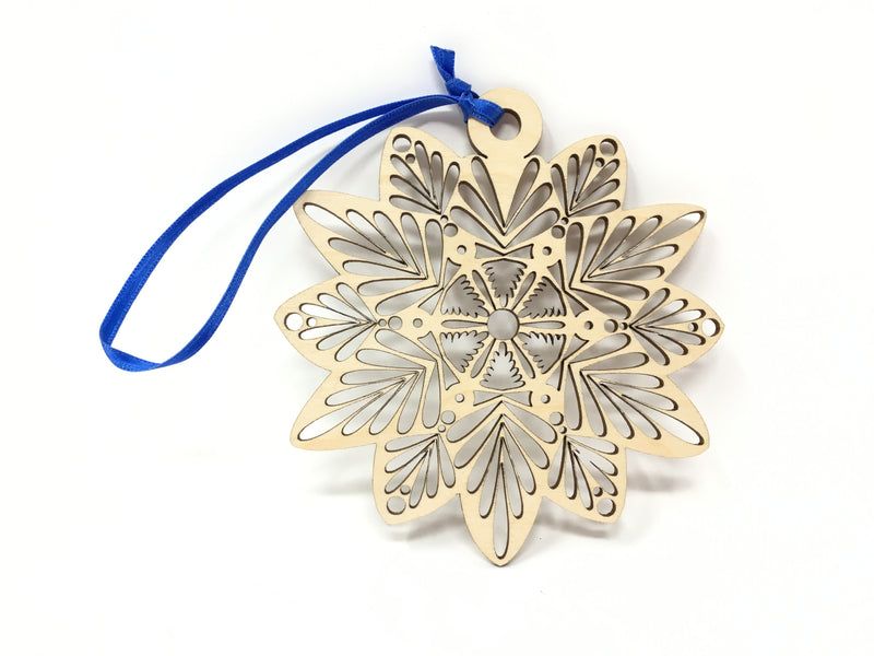 A. Wooden Snowflake
