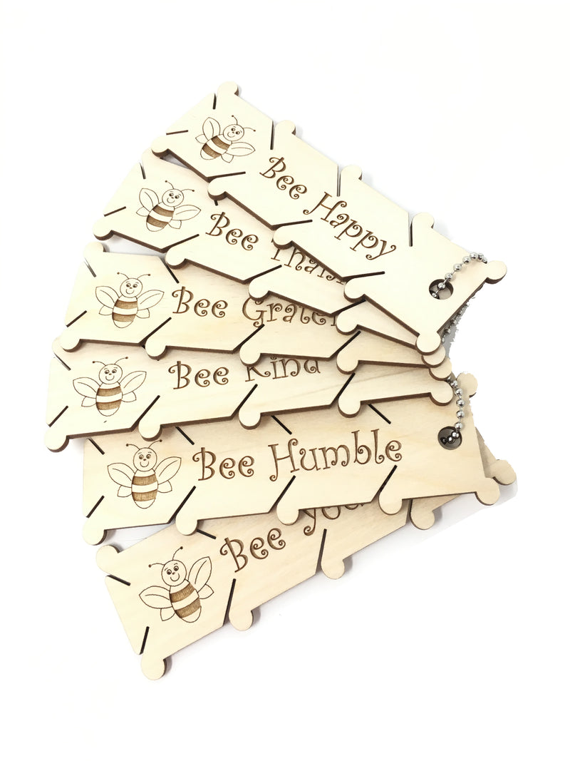 Bee Bobbins (Pack of 6)