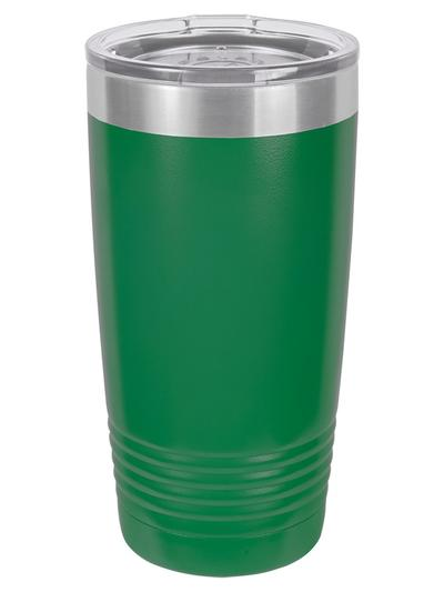 20 oz. Black Ringneck Vacuum Insulated Tumbler w/Lid