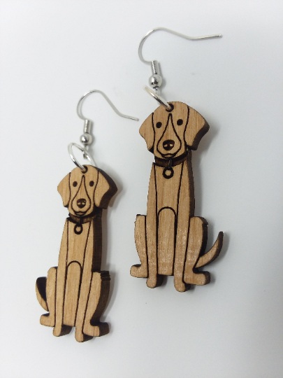 Dog Earrings