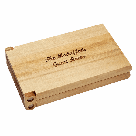 Wood Cribbage Game Gift Set