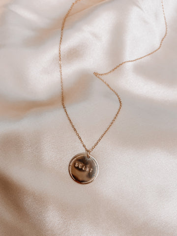 Medium Custom Coin Necklace