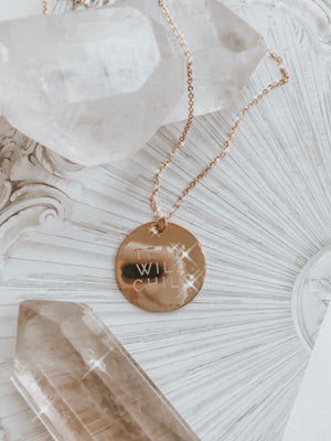 Team Wild Child Recognition Necklace