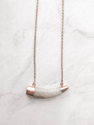 Natural Chic Horn Necklace