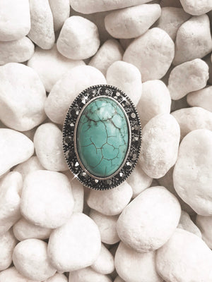 The Rachel Ring (turquoise)