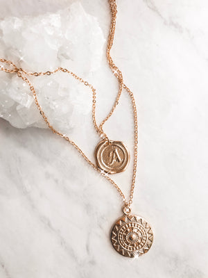 Riviera Coin Necklace