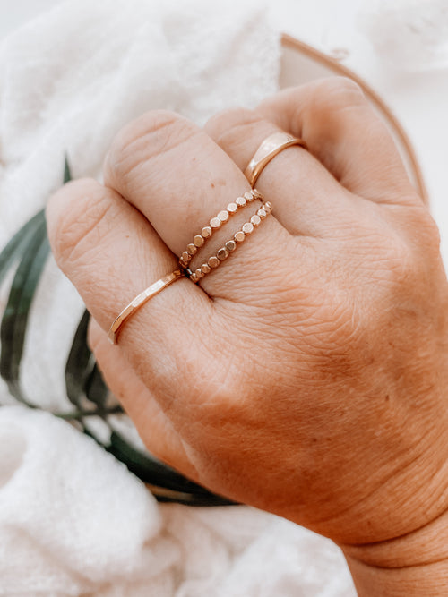 Classic Stacker Ring