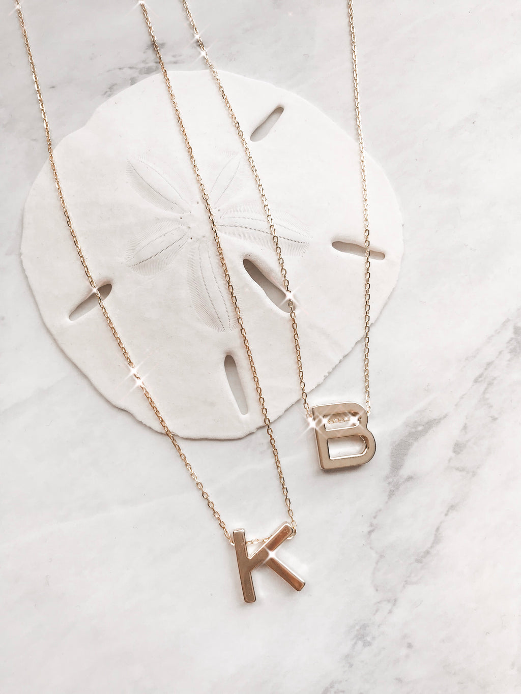 Medium Initial Necklace