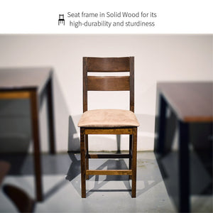 センボ Senbō Pub-Height Solid Wood 5-Piece Dining Set - Free Delivery