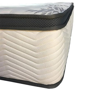 Shin-Ju II (Single) Pocketed Spring Latex Mattress w/Supakuru Double-Knitted Fabric