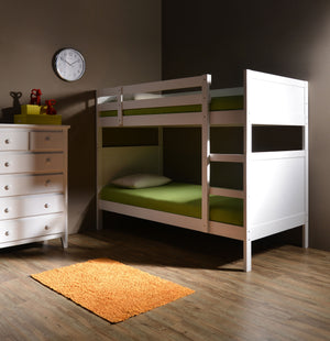 Yuki Wooden Single Bunk Bed