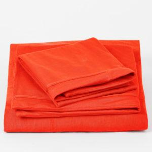 NocheNoche Supakuru Dermofresh® Protector King Fitted Bedsheet Set (43CM) - RED (183X191X43CM)