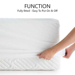 [3PC BEDSHEET SET - QUEEN/KING ONLY] NocheNoche's Anti-Aging Zinc-Oxide Super Cool Tencel® Bedsheet with Anti-Bedbug & Anti-Bacterial Protection