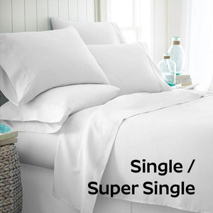 [BEDSHEET ONLY] NocheNoche's Anti-Aging Zinc-Oxide Super Cool Tencel® Bedsheet with Anti-Bedbug & Anti-Bacterial Protection