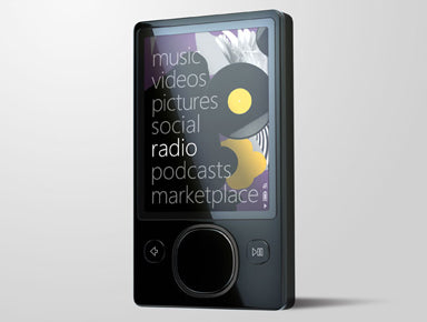 Microsoft Zune 120GB Take Apart Repair Guide