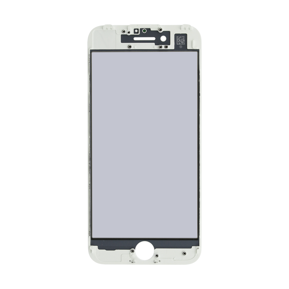 with Glue Card CDMA /& GSM Lens with Pre-Applied OCA Sheet for Apple iPhone 7 Plus White