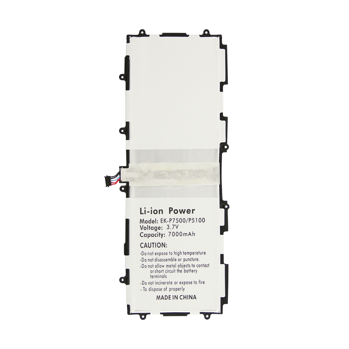 Samsung Galaxy Tab 10.1 P7500 Battery Replacement