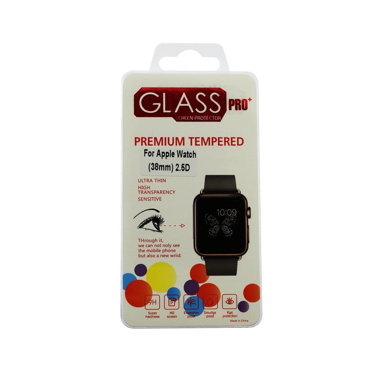 Apple Watch Tempered Glass Protection Screen Replacement