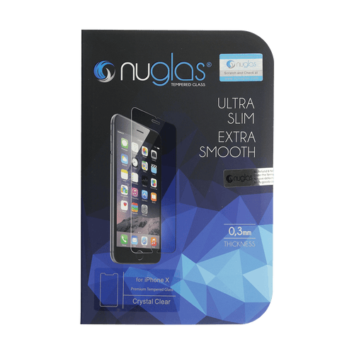 iPhone X Nuglas 2.5D Tempered Glass Protection Screen