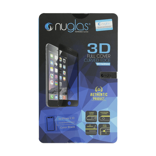 iPhone X 3D NuGlas Tempered Glass Protection Screen