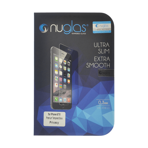 iPhone 7/8 NuGlas Privacy Tempered Glass Protection Screen