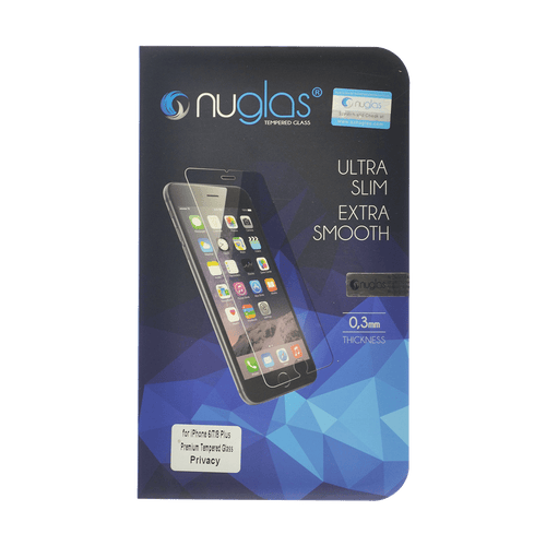 iPhone 6 Plus/6s Plus NuGlas Privacy Tempered Glass Protection Screen