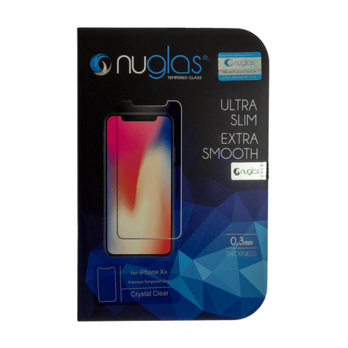 iPhone XR Nuglas 2.5D Tempered Glass Protection Screen