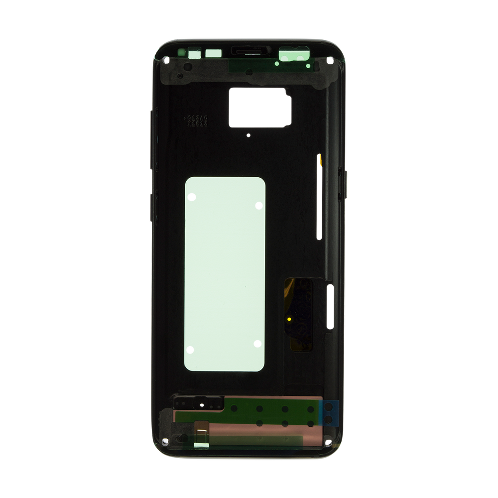 Mid Frame Aftermarket for Samsung Galaxy S8+ with Glue Card Housing Blue