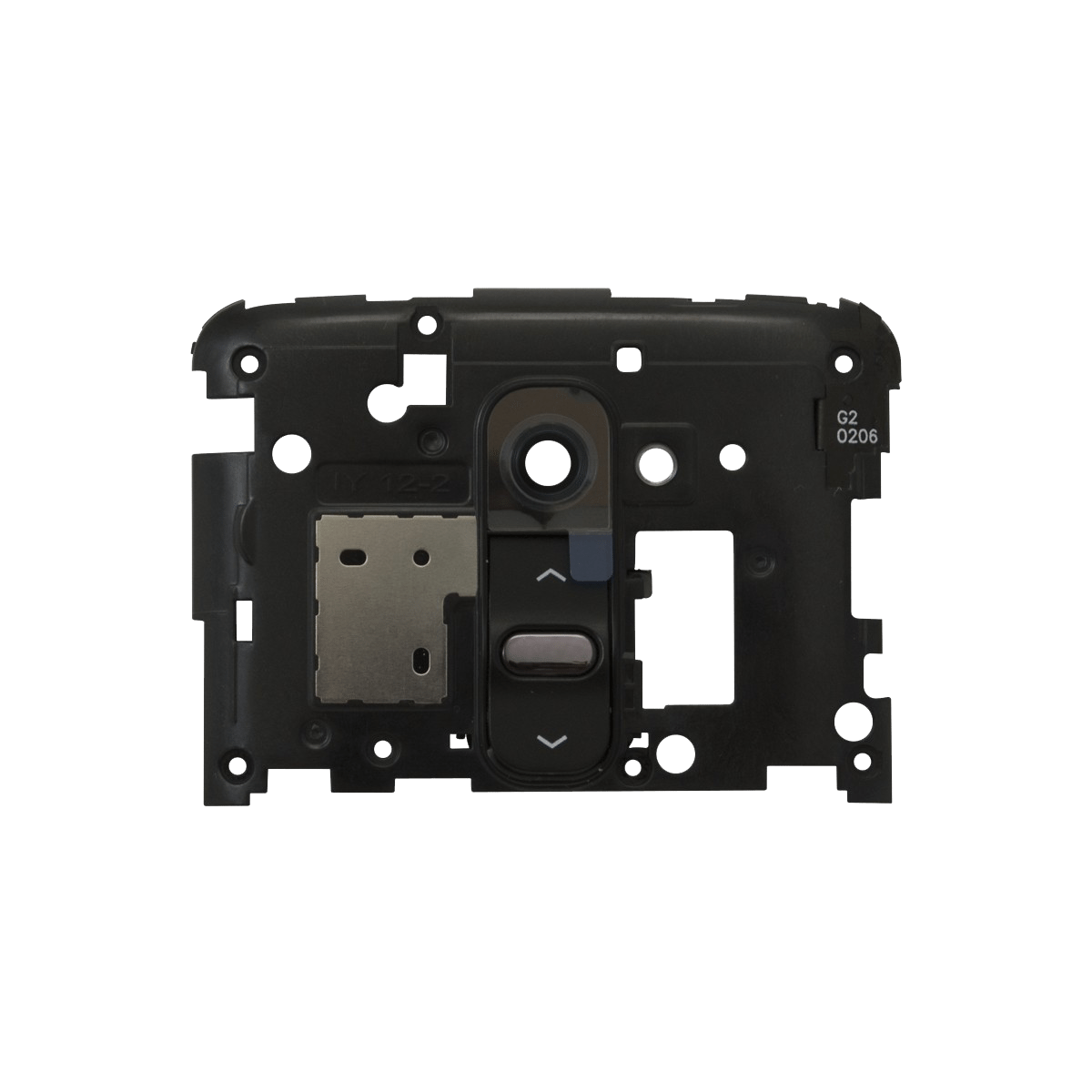 LG G2 Rear Housing Backplate with Camera Lens & Volume Buttons