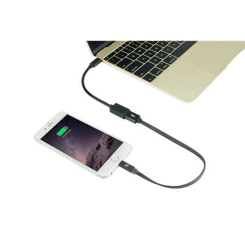 Scosche USB-C to USB-A Charge & Sync Cable Adapter