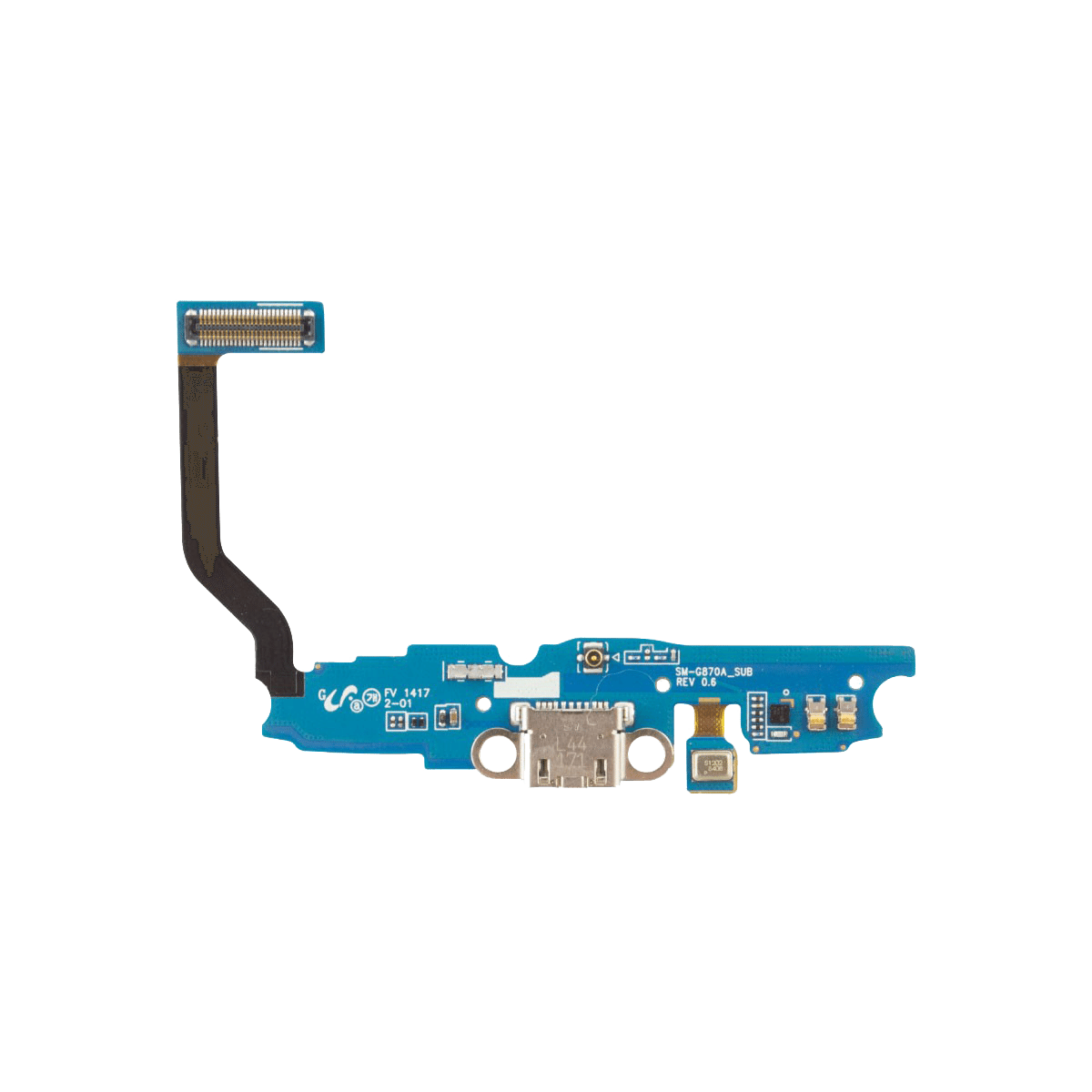 Samsung Galaxy S5 Active Charging Dock Port Flex Cable